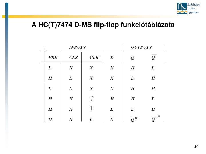 A HC(T)7474 D-MS