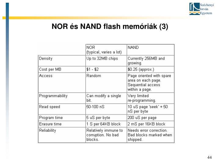 NOR és NAND