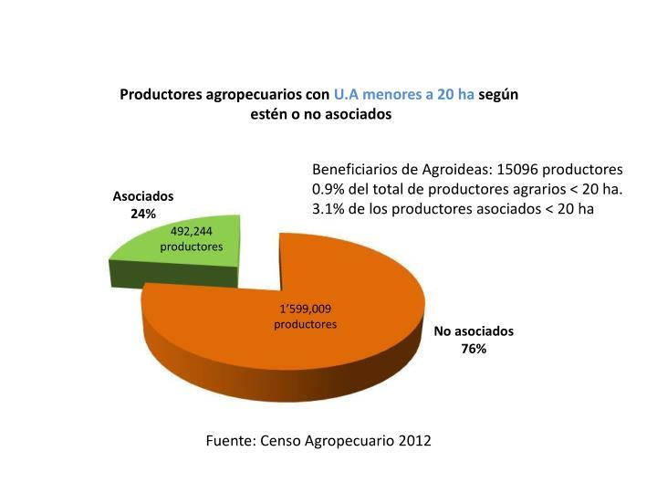 Productores agropecuarios con