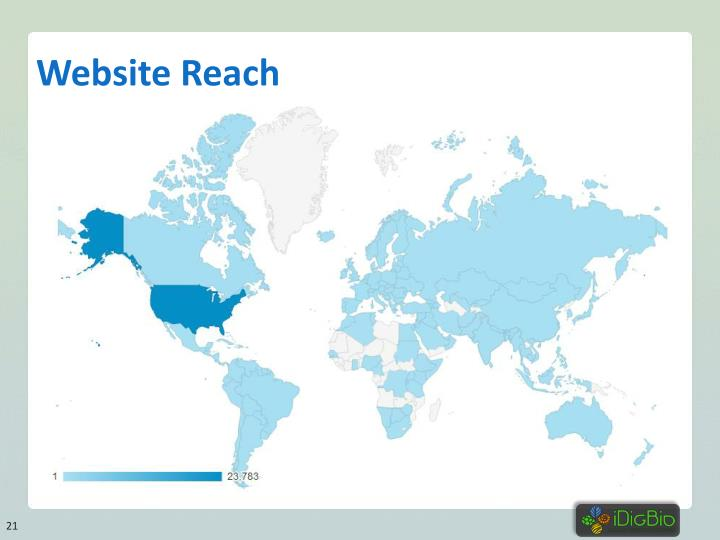 Website Reach