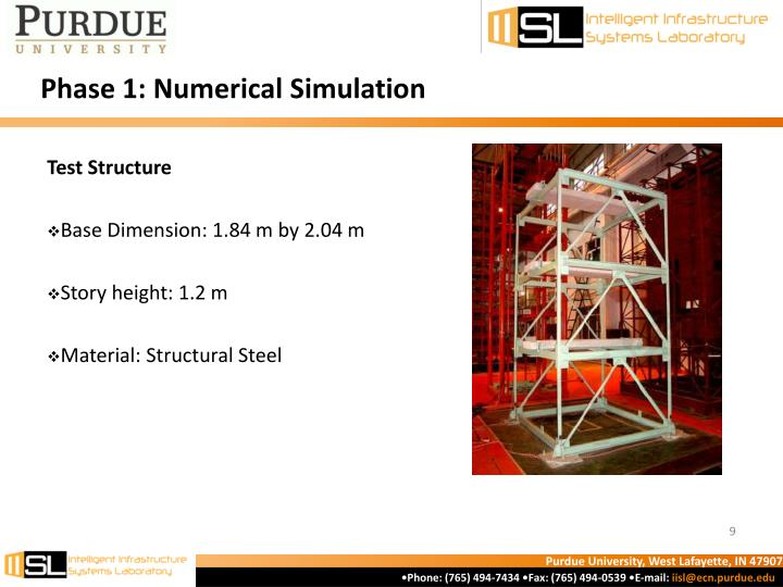 Phase 1: Numerical Simulation