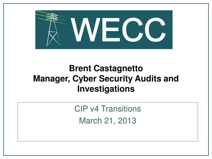 Brent Castagnetto