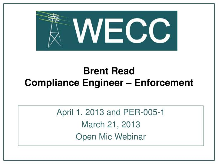 Brent Read