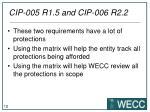 cip 005 r1 5 and cip 006 r2 2