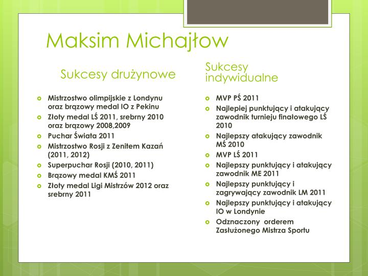 Maksim Michajłow