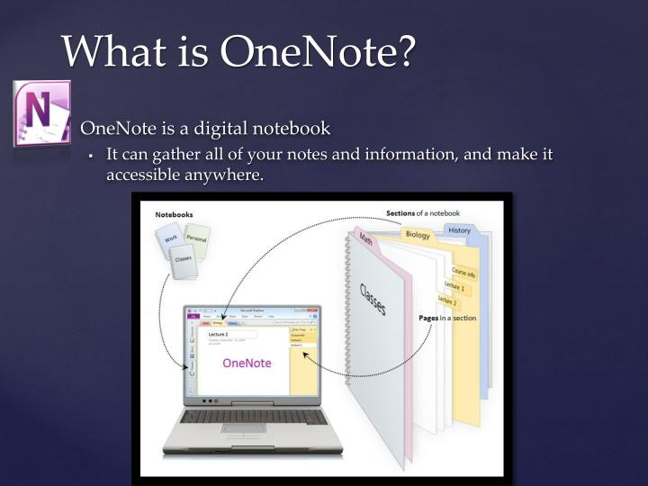 What is onenote