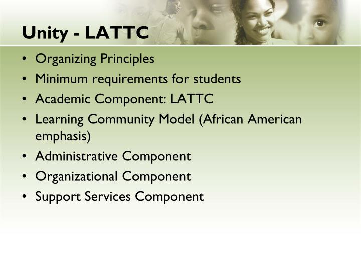 Unity - LATTC