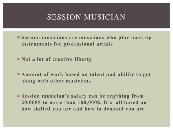 Session musician