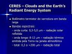 ceres clouds and the earth s radiant energy system