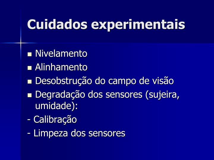 Cuidados experimentais