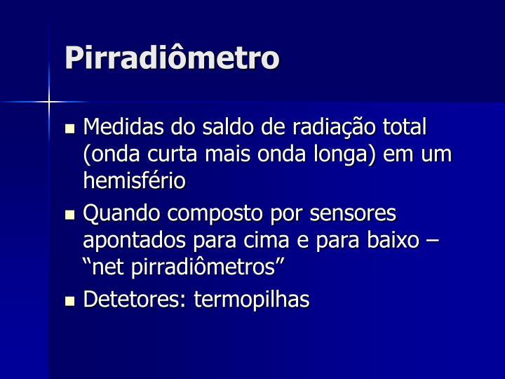 Pirradiômetro