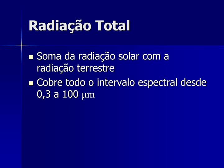 Radiação Total