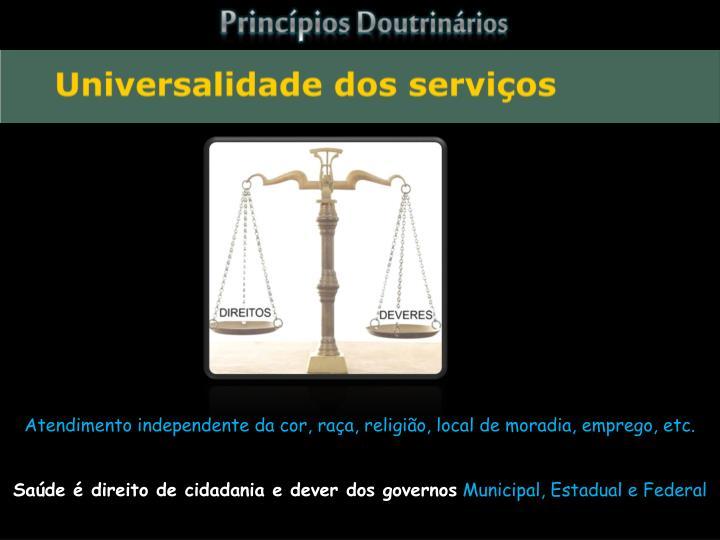 Princípios Doutrinários