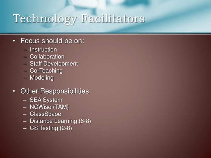 Technology Facilitators