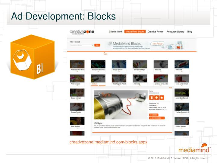 Ad Development: Blocks