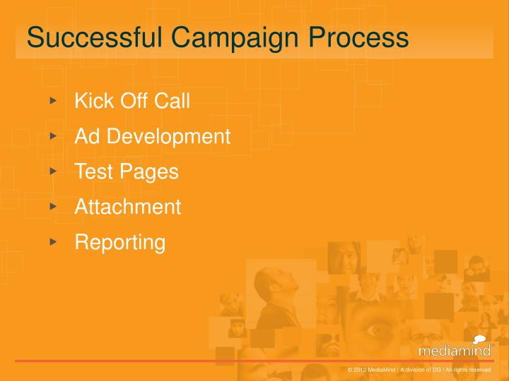Successful Campaign Process