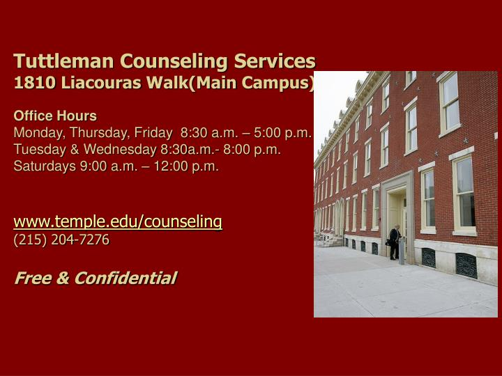 Tuttleman Counseling