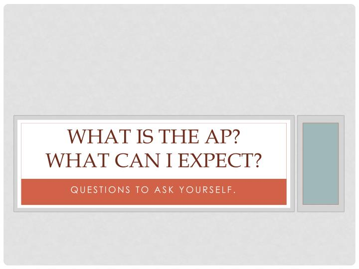 What is the AP?