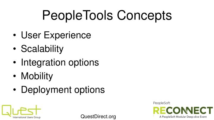 Peopletools concepts