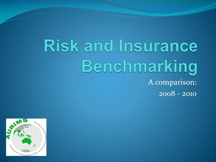 Risk and Insurance Benchmarking