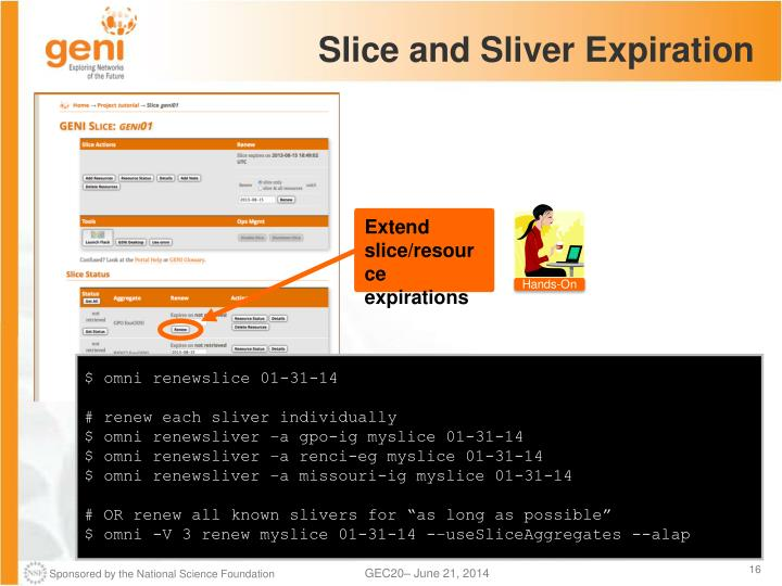 Slice and Sliver Expiration