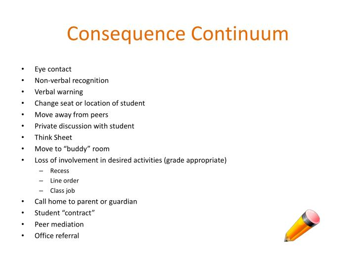 Consequence Continuum