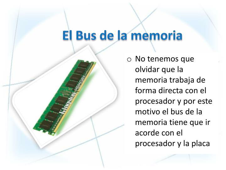 El Bus de la memoria