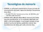 tecnol gicas de memoria1