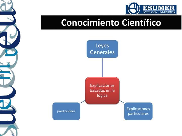Conocimiento Científico