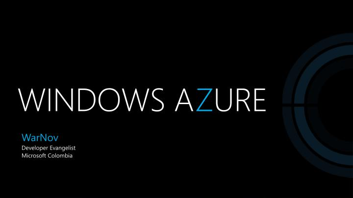 Windows a z ure