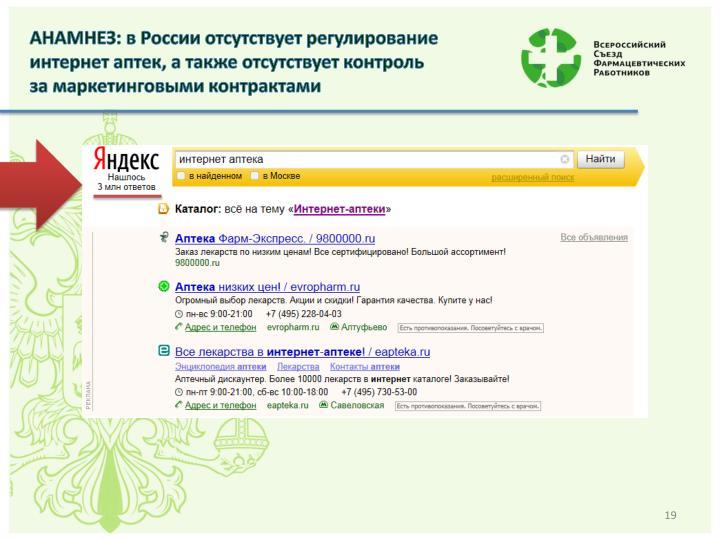 АНАМНЕЗ: в России отсутствует