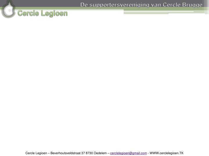 De supportersvereniging van Cercle Brugge