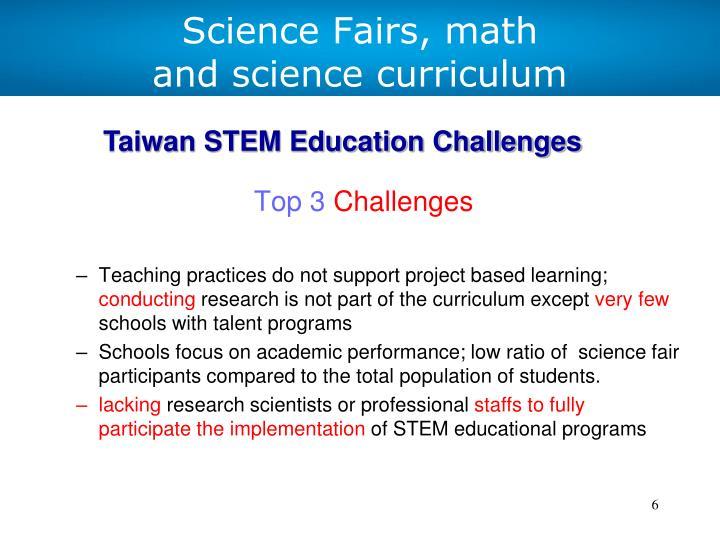 Science Fairs, math