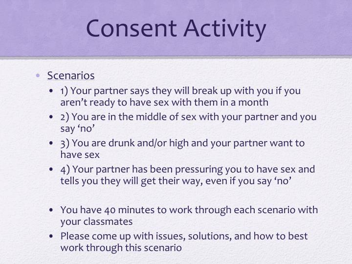 Consent Activity