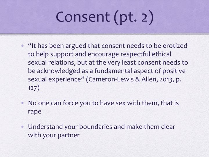 Consent (pt. 2)