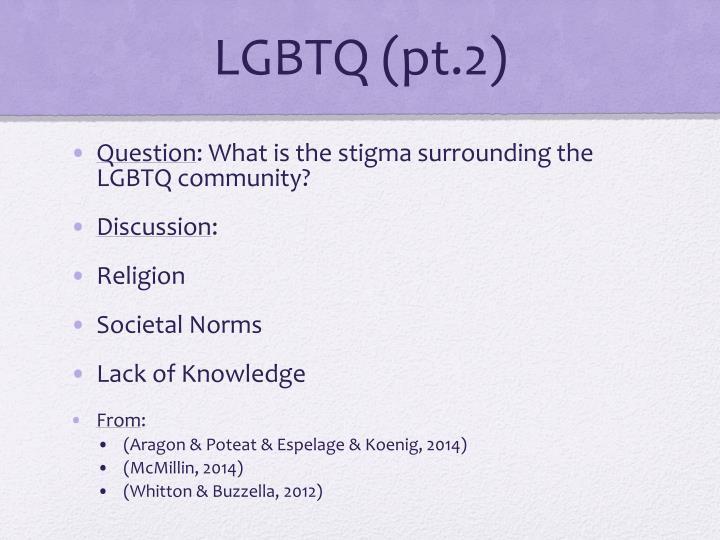 LGBTQ (pt.2)