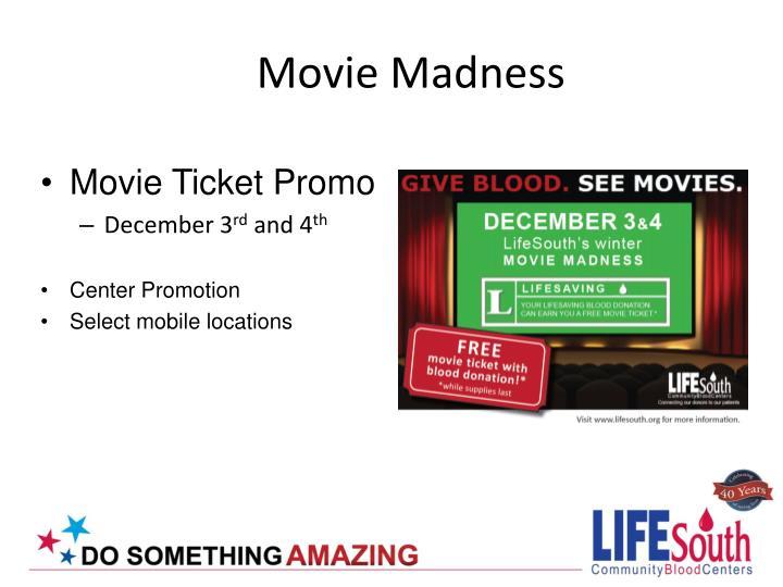 Movie Ticket Promo