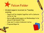 falcon folder