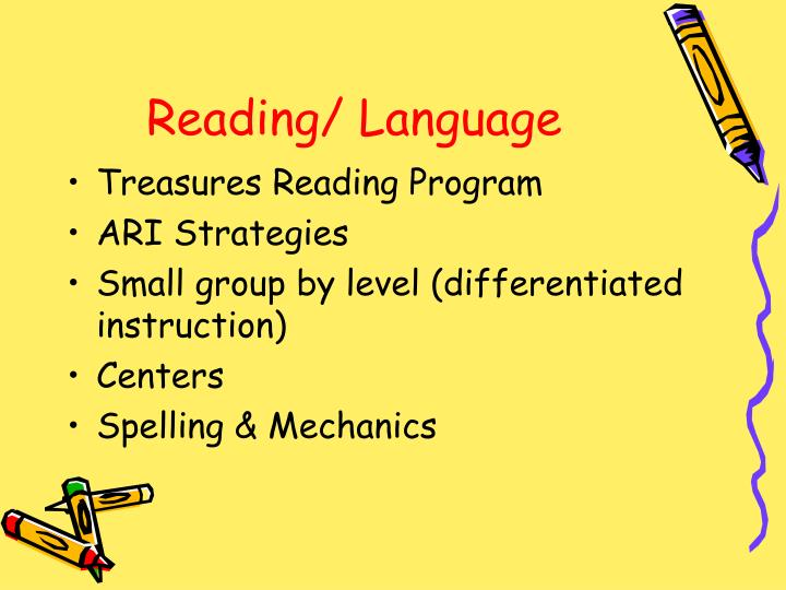 Reading/ Language