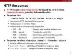http responses