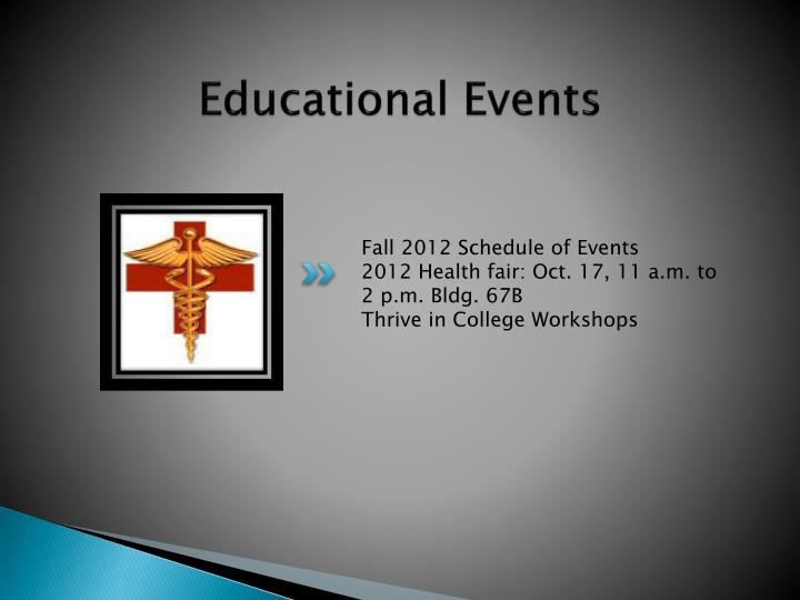 Educational Events