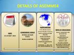details of asemme4
