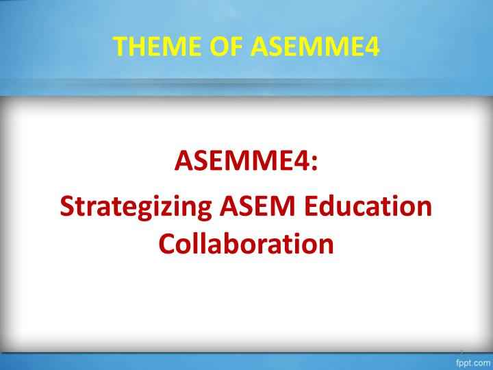 THEME OF ASEMME4
