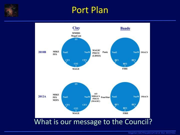 Port Plan