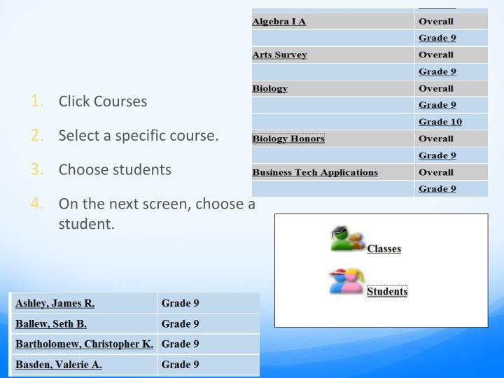Click Courses