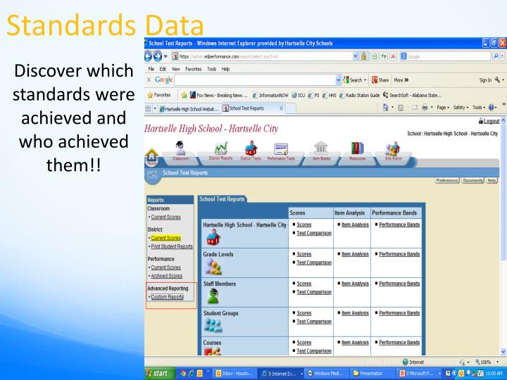 Standards Data