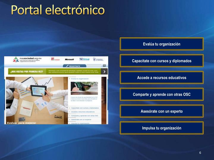 Portal electrónico