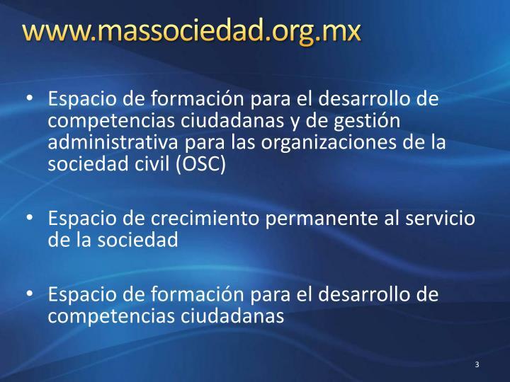 www.massociedad.org.mx