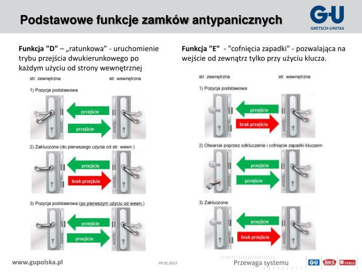Podstawowe funkcje zamków