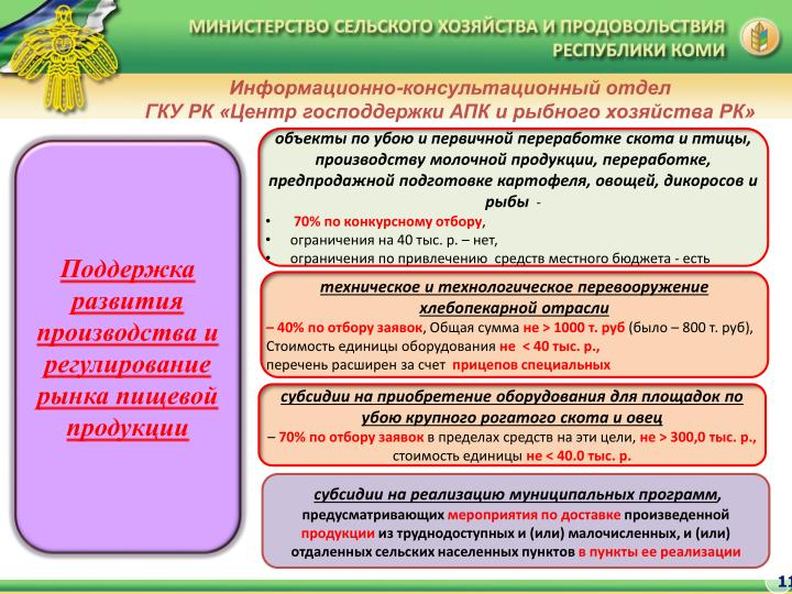 Информационно-консультационный отдел